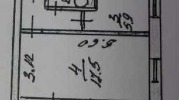 №384 1-комнатная квартира в Алуште