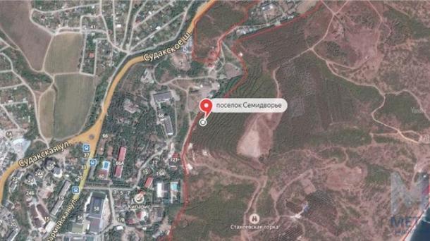 №470 Продается земельный участок в Крыму Семидворье
